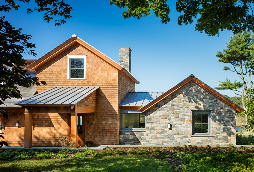 CT Residential Architect Michael McKinleyu0027s Design For A Stone And Shingle Coastal  Home In Stonington,