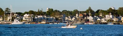 View of Stonington Harbor.